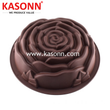 Customized for Silicone Mold For Cupcake Large Rose Silicone Baking Mold Pan export to Algeria Exporter