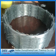 Trade Assurance Galvanized Razor Barbed Wire