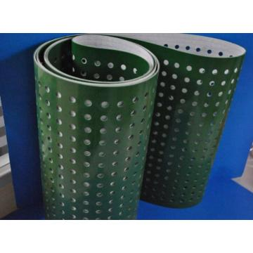Professional for Printing & Die-cutting Equipment PVC Conveyor belt with Punching holes export to Germany Factory