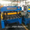 Trapezoidal profile roll forming machine