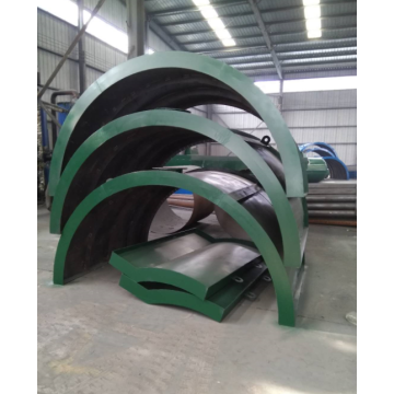 new fully-open door tire pyrolysis equipment