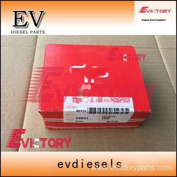 ISUZU engine parts piston 10PE1 piston ring