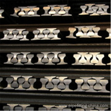 Steel railway p18 rail 55Q Q235 mine rail