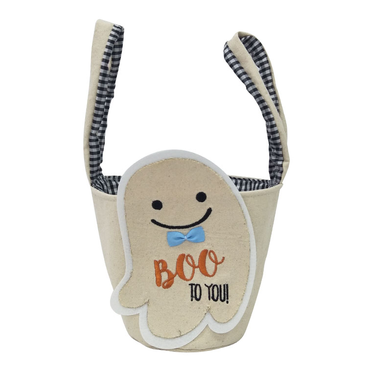 Halloween White Ghost Candy Bag