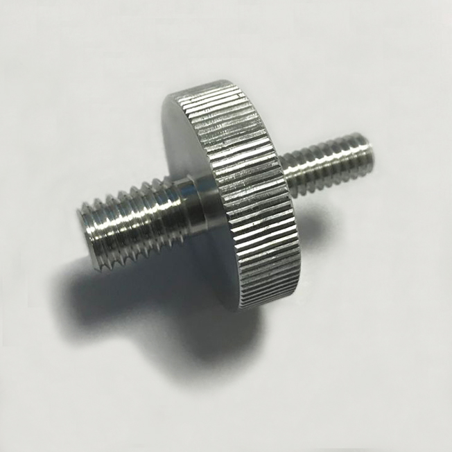 CNC  Machining Double Head Threaded Screw Services