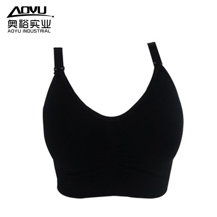 Wholesale Women Sports Materniry Seamless Nursing Bra