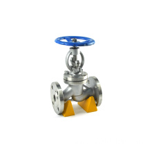 Stainless steel astm a182 hande operated bellow sealed class150 300 600 globe valve 3 4