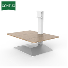 Ergonomic Adjustable Lap Sit Stand Desk Riser Converter
