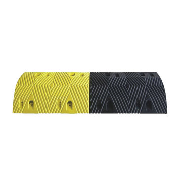Trapezoidal High Strength Rubber Car Speed Bumps