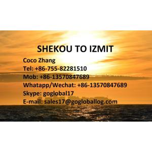 Shenzhen Shekou Sea Freight to Turkey Izmit