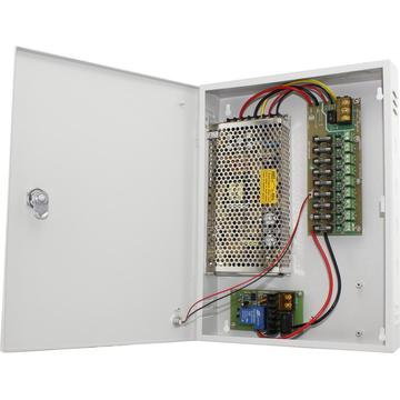 CCTV Power Supply Unit with Backup 12V10A