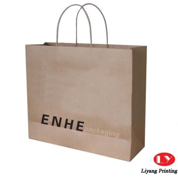 Fancy gift kraft paper bag printing packaging