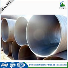 Contruction Materials DIN Spiral Submerged Welded Pipe