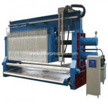 High Pressure Paper Mill Slurry Plate Filter Press