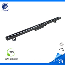 Color changing 36W LED linear wall wash light
