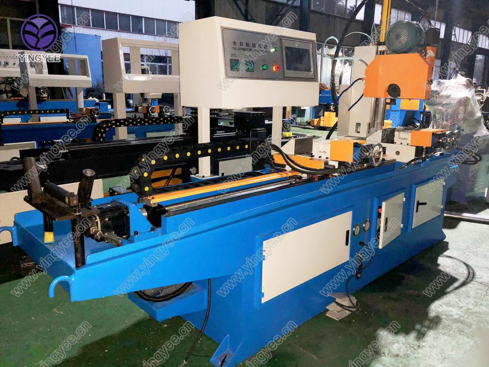 Auto Metal Pipe Cutting Machine From Yingyee002