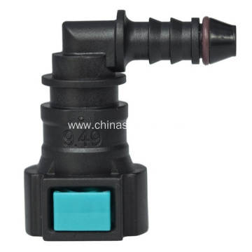 Conductive Quick Connector 9.49mm(3/8SAE)90°