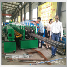 w beam profile roll forming production line
