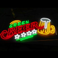BEER NEON SIGN LEIGHT