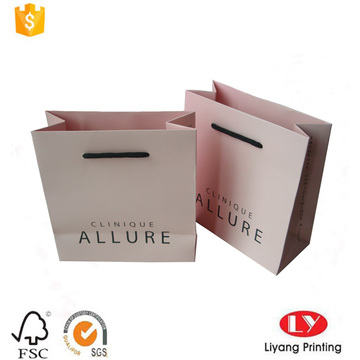 customized coated paper gift bag with handle