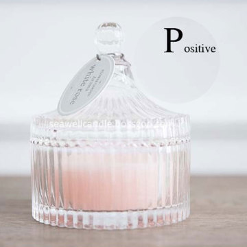 beautiful Glass Cup Scented Soy Wax Candle
