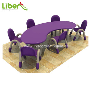 China New Product for Children Table and Chairs Set Best selling preschool desk and chair for kids supply to Pakistan Manufacturer