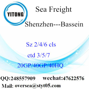 Shenzhen Port Sea Freight Shipping To Bassein