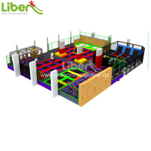 Wholesale Price China for Indoor Trampoline Park exercise indoor trampoline park price export to Sudan Manufacturer