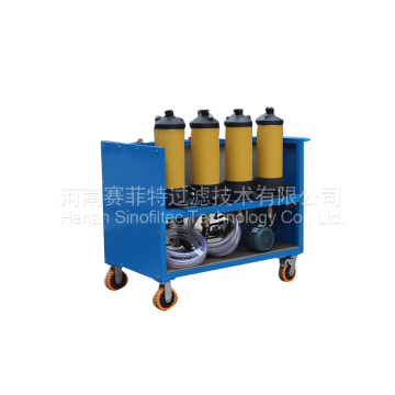LYC-S Type Movable Hydraulic Oil Filter Push chart