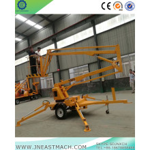 China for Cherry Picker Rental 20m Trailing Telescopic Hydraulic Boom Lift supply to Jordan Importers