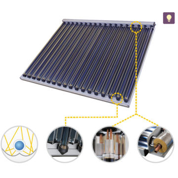 Solar Cooling system with CPC collector