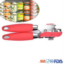 Super Lowest Price for Non Slip Can Opener Soft Grips Handle Rubber manual Can Opener export to Armenia Manufacturer