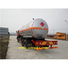 Leading for 35cbm LPG Tanker Trucks Dongfeng 10 Wheeler LPG Tank Trucks export to Heard and Mc Donald Islands Suppliers