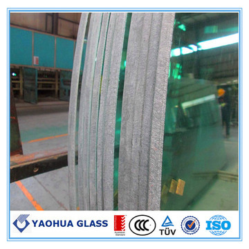 5-10 mm Float Glass Curved  Tempered Glass