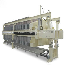 Sludge dewatering maple syrup filter press