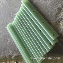 Green G10 epoxy resin sheet for electronic part