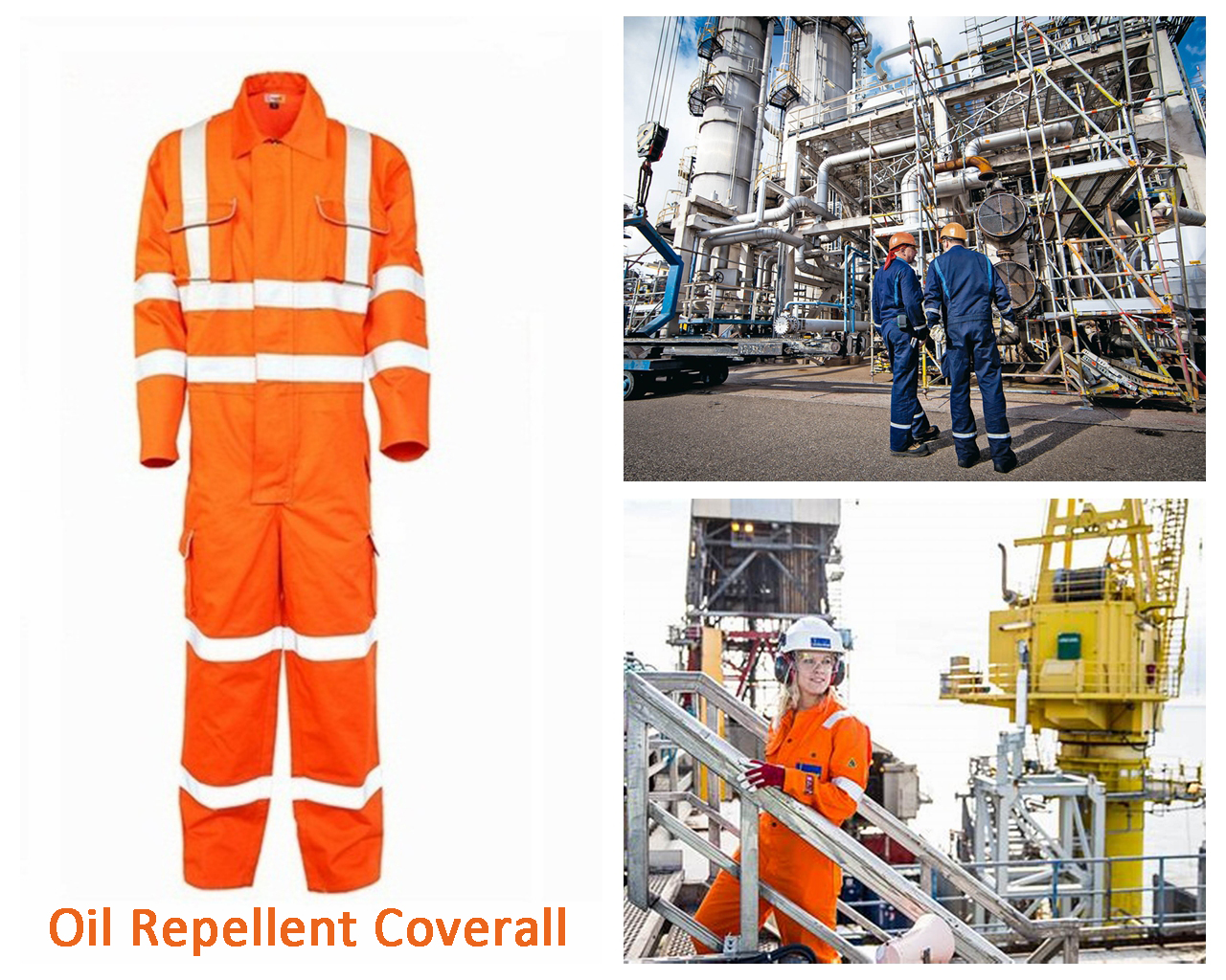 2. Oil Repellent Coverall