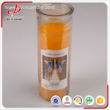 Factory Promotional for China Glass Candle, White Religious Glass Jar Candle For Church manufacturer Religious church white 7 day glass candle supply to Jordan Importers