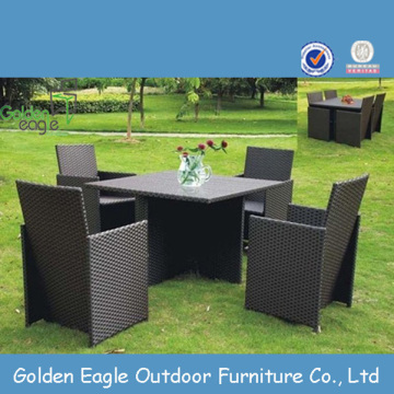Outdoor Furniture Led Dining Set