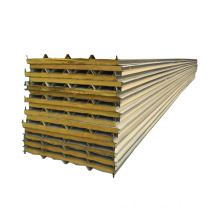 Factory directly sale for Rockwool Sandwich Wall Panel glass wool roof sandwich panel price supply to Poland Suppliers