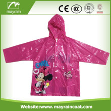 Customer' s OEM PVC Raincoat for Child