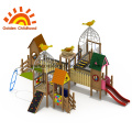 Commercial Outdoor Playground Bird Playground Equipment