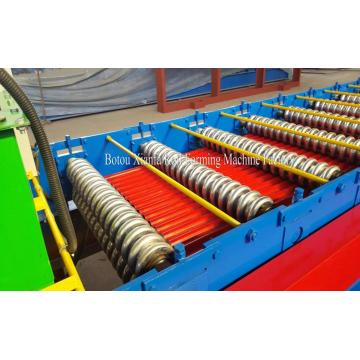 Small Water Wave Metal Panel Roll Forming Machine