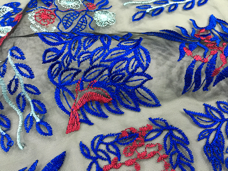 Decoration Embroidery Fabric