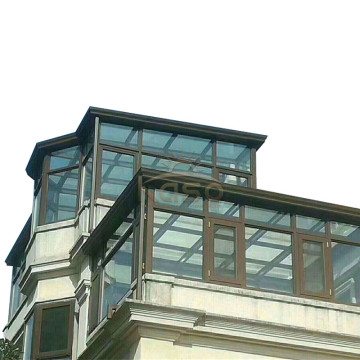 Leading for Glass Sunroom,Glass House,Glass Room Manufacturer in China Victorian Glasshouse Glass House Sunroom Veranda Aluminium supply to Haiti Manufacturers