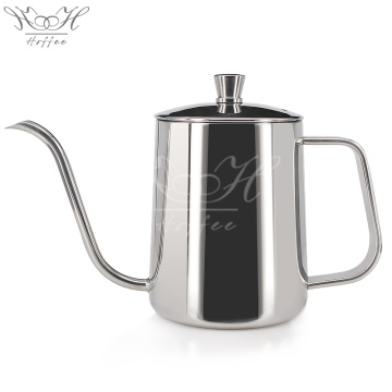 Long Narrow Spout Coffee Pot Fine Pour Over