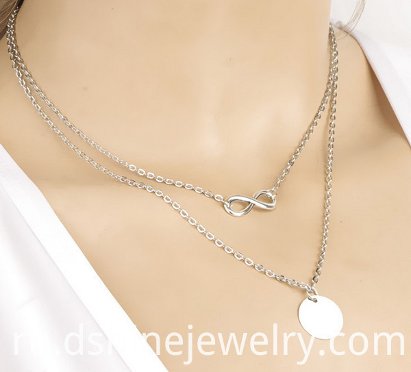 Infinity Chain Necklace Choker