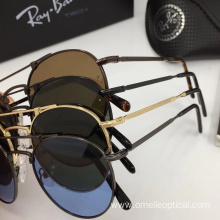 Round Full Frame Sunglasses For Men