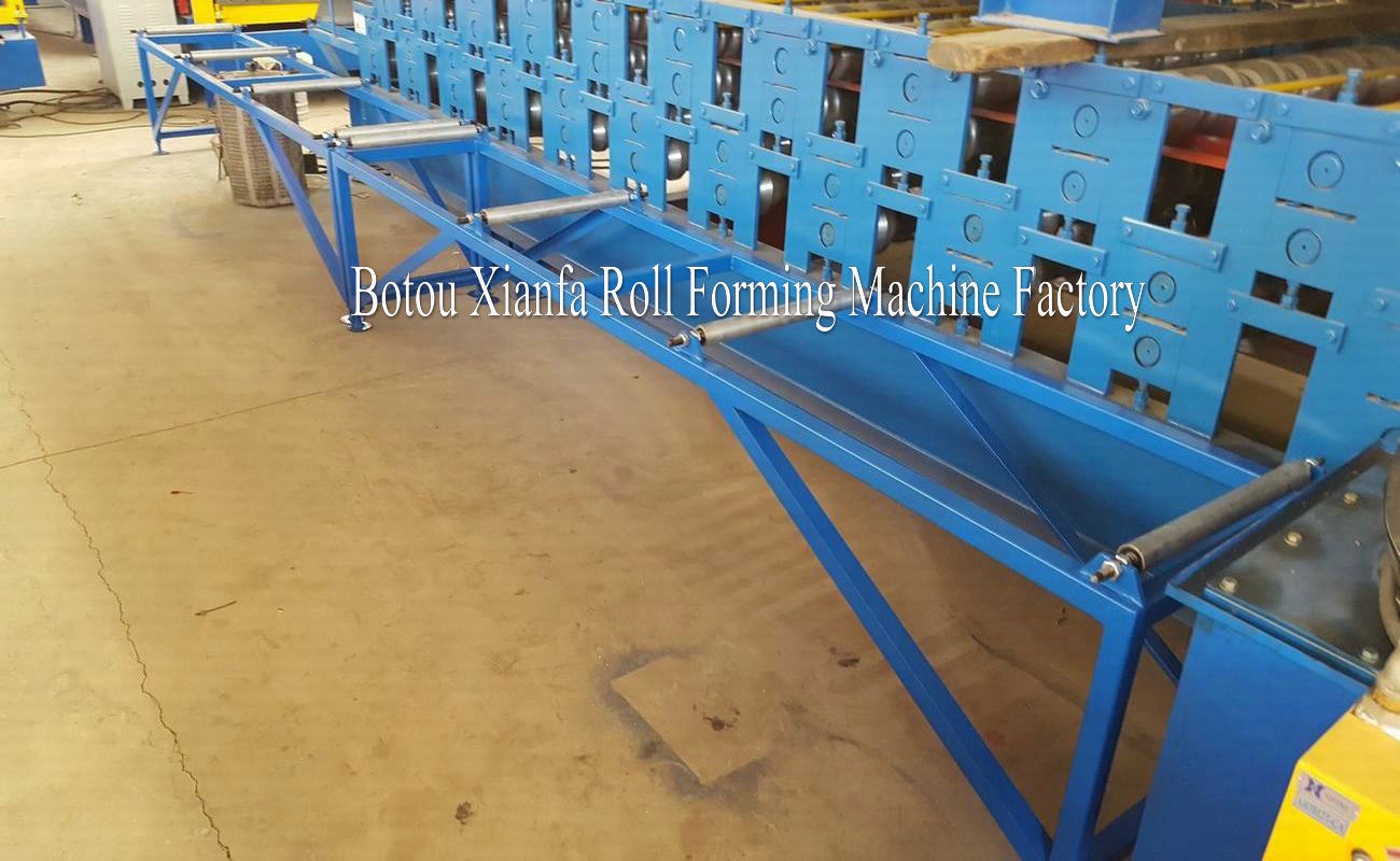 roof ridge press machine