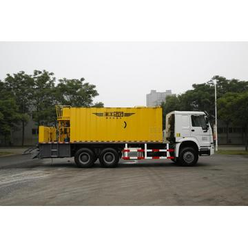 construction stone slurry truck